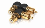 XS adapter RCA 90° angle S/XL mix 1 Pair
